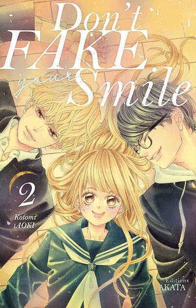 Couverture Don't fake your smile tome 2