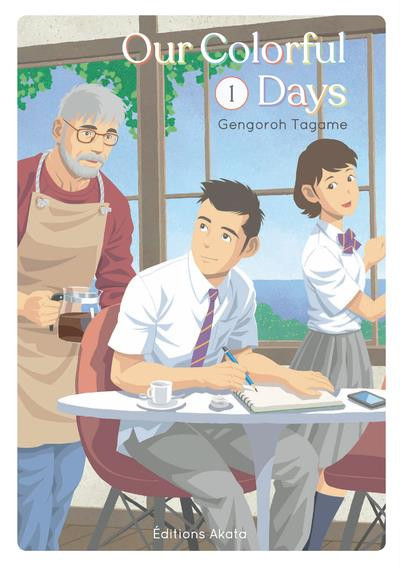 Couverture Our colorful days tome 1
