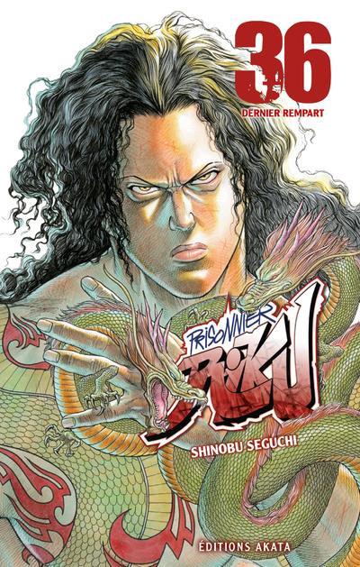 Couverture Prisonnier Riku tome 36