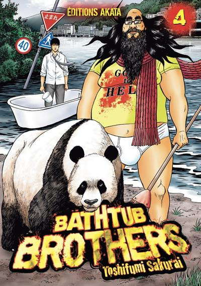 Couverture Bathtub brothers tome 4