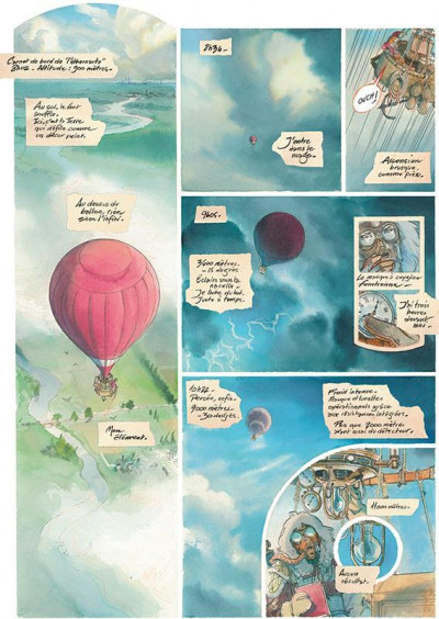 Page 2 Le château des étoiles tome 1