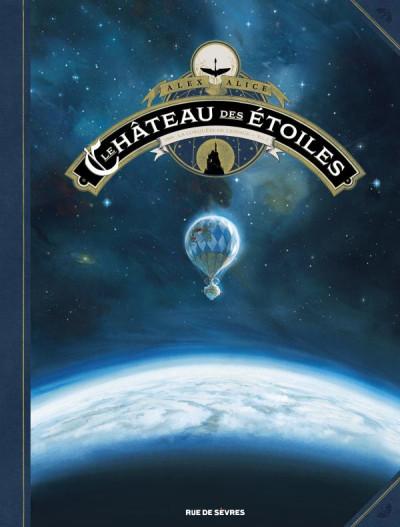 Couverture le château des étoiles tome 1 - 1869 à la conquête de l'espace (grand format)