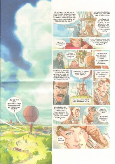 Page 1 le château des étoiles tome 1 - 1869 à la conquête de l'espace (grand format)