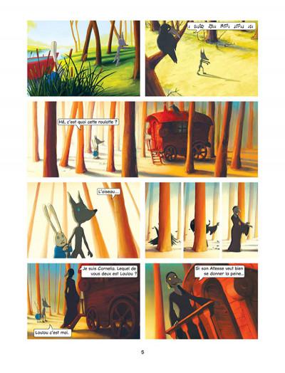 Page 3 Loulou, l'incroyable secret