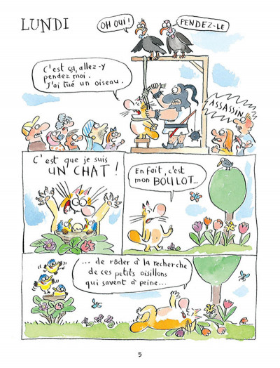 Page 1 journal d'un chat assassin tome 1