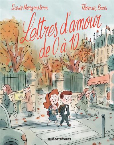 Couverture Lettres d'amour de 0 à 10