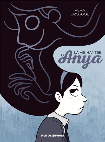 Couverture La vie hantée d'Anya