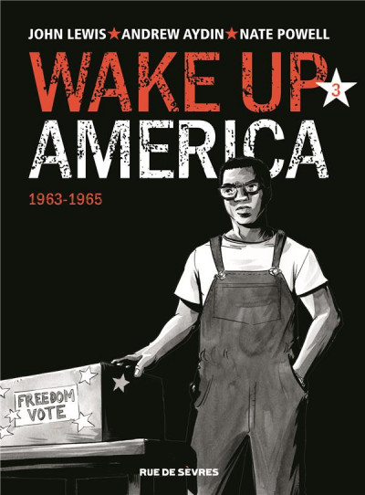 Couverture Wake up America tome 3