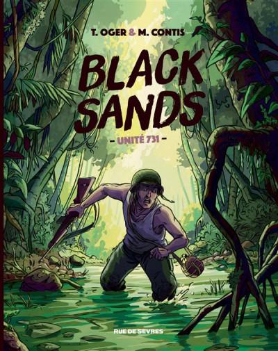 Couverture Black sands - unité 731