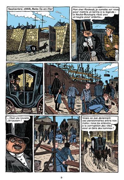 Page 1 Arsène Lupin les origines tome 1 - les disparus de la Haute Boulogne