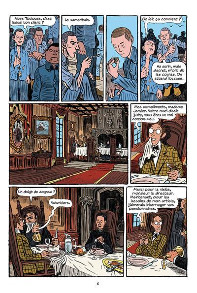 Page 4 Arsène Lupin les origines tome 1 - les disparus de la Haute Boulogne