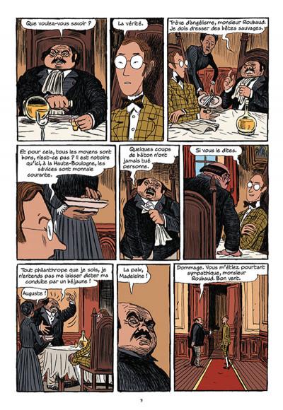 Page 5 Arsène Lupin les origines tome 1 - les disparus de la Haute Boulogne