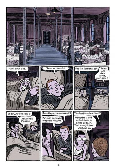 Page 6 Arsène Lupin les origines tome 1 - les disparus de la Haute Boulogne