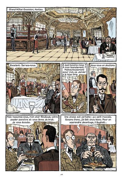 Page 8 Arsène Lupin les origines tome 1 - les disparus de la Haute Boulogne