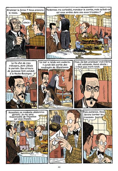 Page 9 Arsène Lupin les origines tome 1 - les disparus de la Haute Boulogne