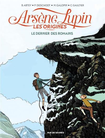 image de Arsène Lupin les origines tome 2 - Le dernier des romains