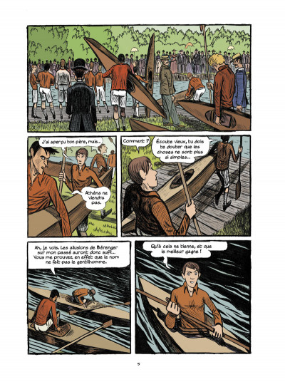 Page 3 Arsène Lupin, les origines tome 3
