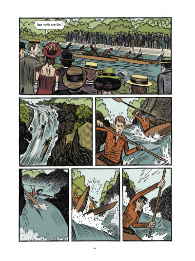Page 5 Arsène Lupin, les origines tome 3