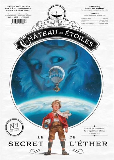 Couverture Le château des étoiles gazette tome 1 - le secret de l'éther