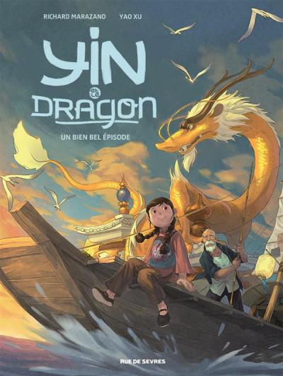 Couverture Yin et le dragon tome 1