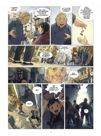 Page 2 Yin et le dragon tome 1