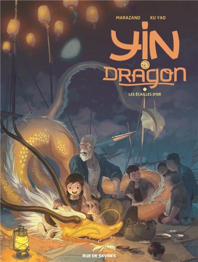 Couverture Yin et le dragon tome 2