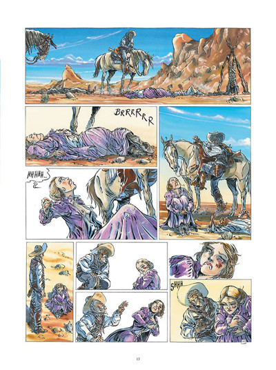 Page 1 Buffalo Runner - édition grand format