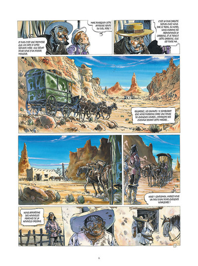 Page 4 Buffalo Runner - édition grand format