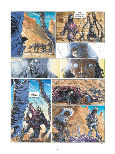 Page 7 Buffalo Runner - édition grand format
