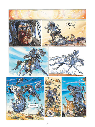 Page 8 Buffalo Runner - édition grand format