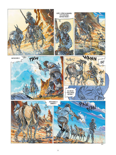 Page 9 Buffalo Runner - édition grand format