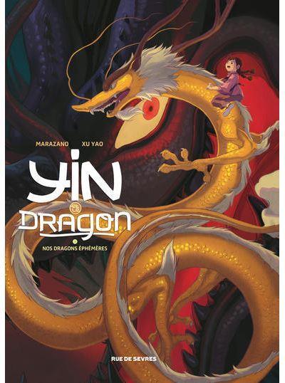 Couverture Yin et le dragon tome 3