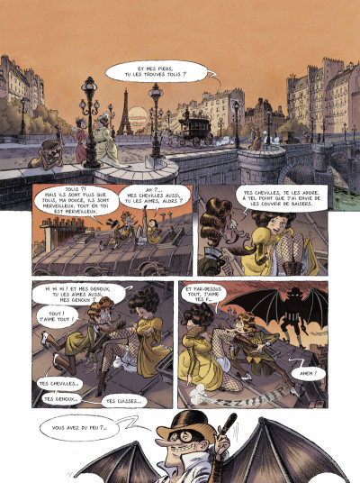 Page 1 Une aventure des spectaculaires tome 1