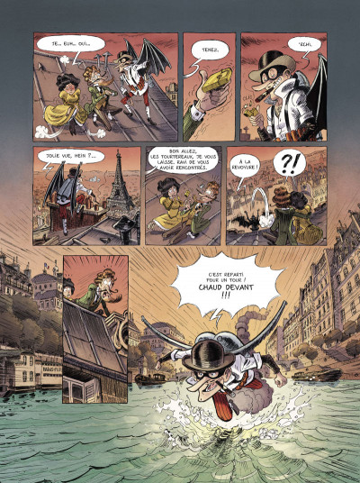 Page 2 Une aventure des spectaculaires tome 1