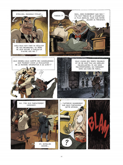 Page 5 Une aventure des spectaculaires tome 1