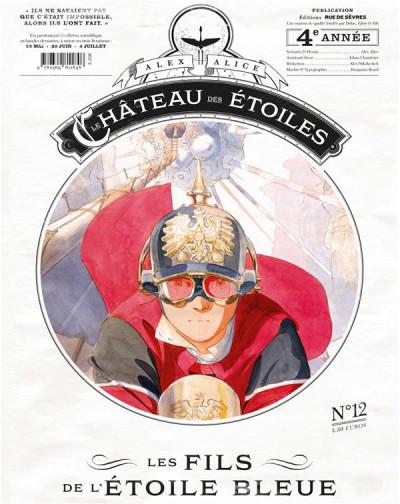 Couverture Le château des étoiles - gazette tome 12