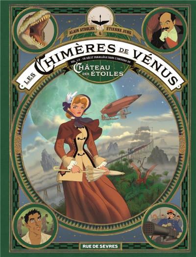 Couverture Les chimères de Vénus tome 1