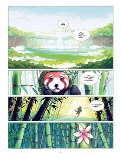 Page 1 Fleur de bambou tome 1