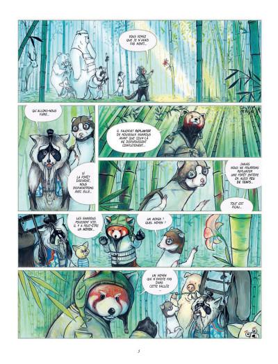 Page 3 Fleur de bambou tome 1