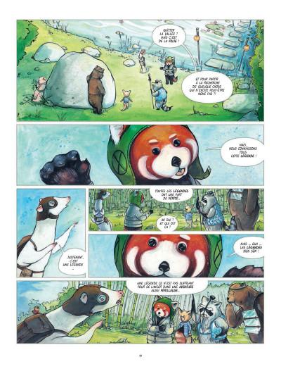 Page 4 Fleur de bambou tome 1