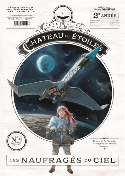 image de Le château des étoiles gazette tome 4 - les naufragés du ciel