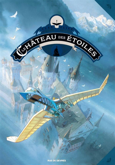 Couverture Le château des étoiles tome 2 - Grand format