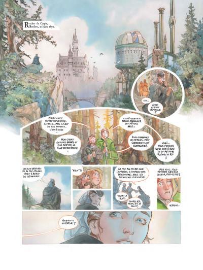Page 1 Le château des étoiles tome 2 - Grand format