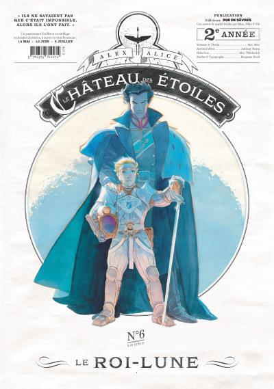 Couverture Le château des étoiles gazette tome 6