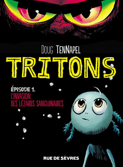 Couverture Tritons tome 1