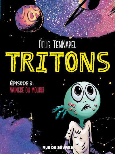 Couverture Tritons tome 3