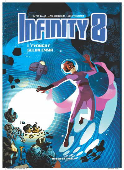 Couverture Infinity 8 tome 3