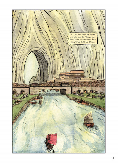 Page 1 La cité sans nom tome 1