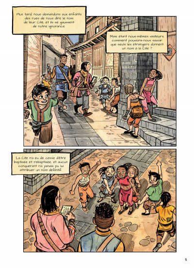 Page 3 La cité sans nom tome 1