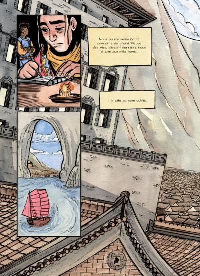 Page 4 La cité sans nom tome 1
